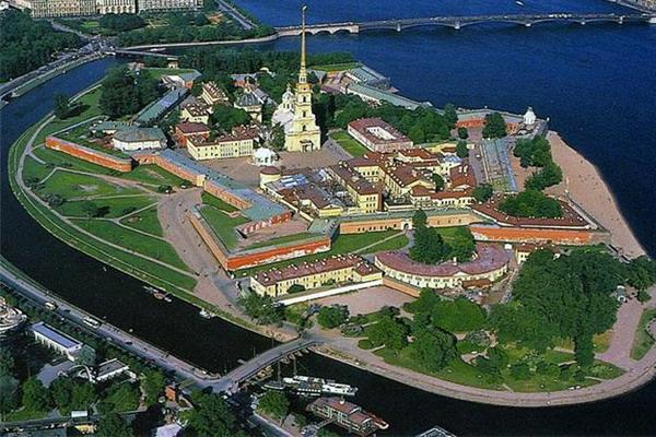 фотки петропавловской крепости